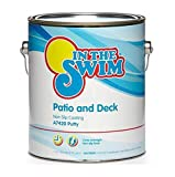 In The Swim Patio and Deck Paint Ivory - 1 Gallon