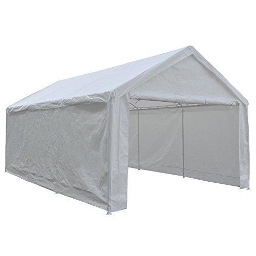 5 Best Portable Garage In A Box Carport Canopy 10x20 12x20 In 2020
