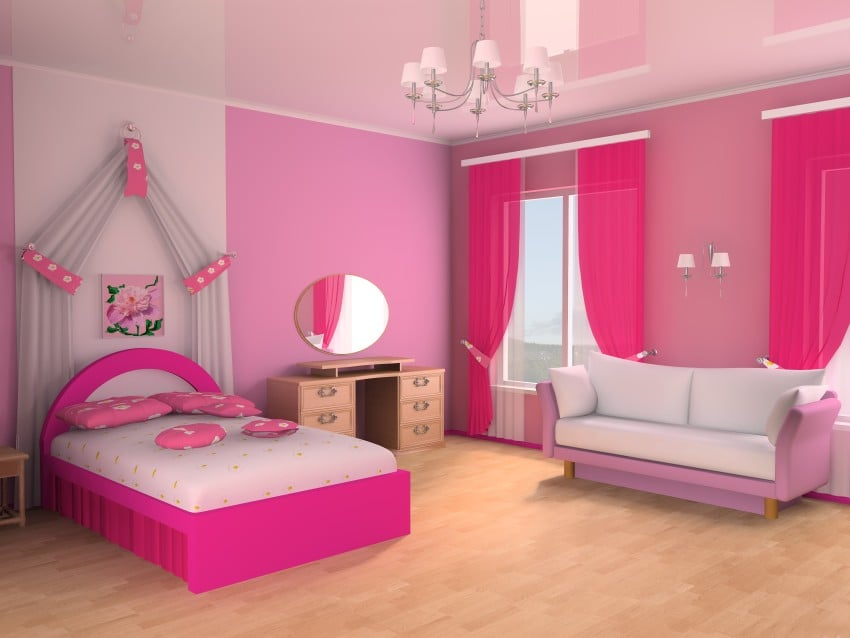 Children-girl-Room