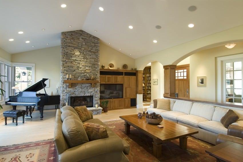 spacious living room big living rooms