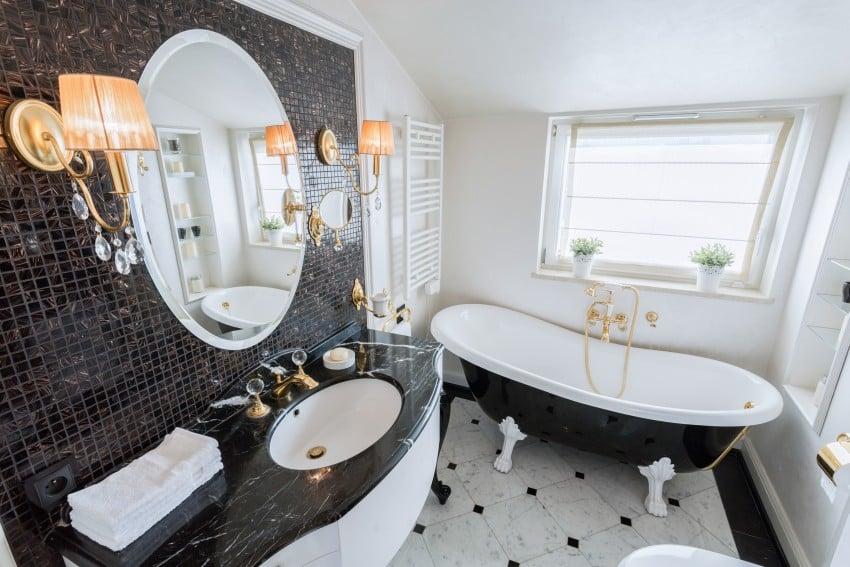 Bathroom design ideas image gallery epic home ideas for Baroque style bathroom