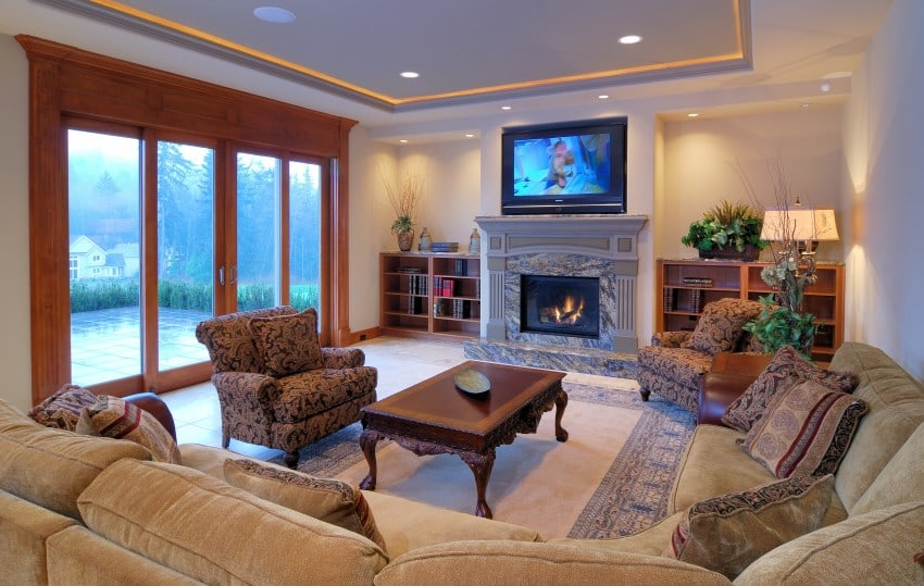 Living room home design ideas image gallery epic home for Living room designs for big spaces