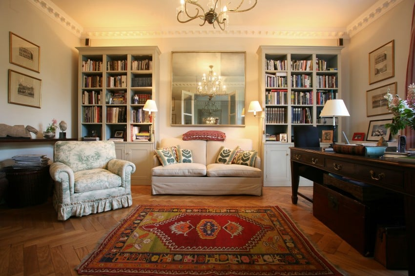 Luxury-and-classic-style-with-bookshelf