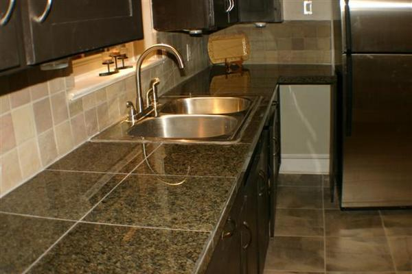 ceramic-tile-kitchen-countertop