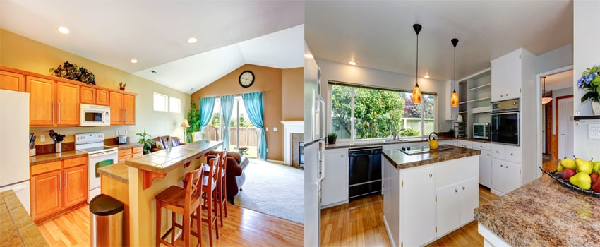 Open Plan Kitchen Vs Separate Kitchen Room