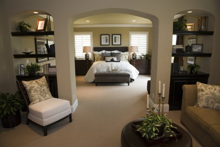 40 elegant master bedroom design ideas 2018 image gallery for Elegant master bedroom designs