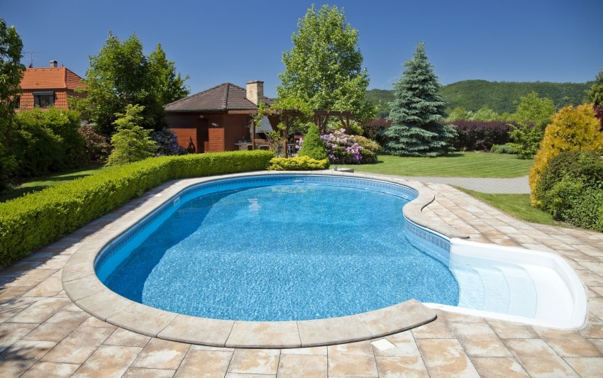 backyard swimming pools types and cost epic home ideas