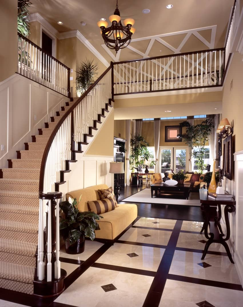 fascinating foyer design