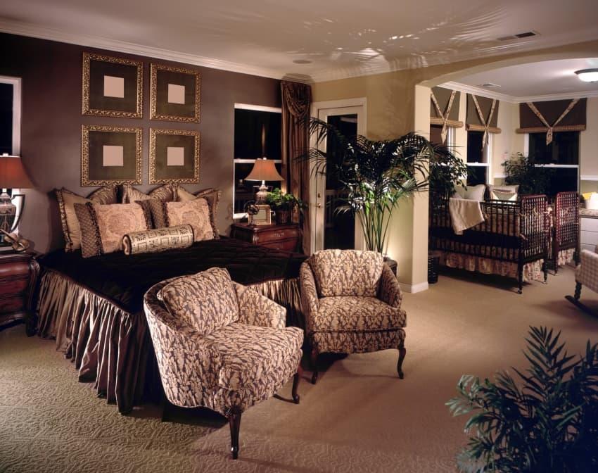luxury master bedroom bedroom accent lighting surrounding