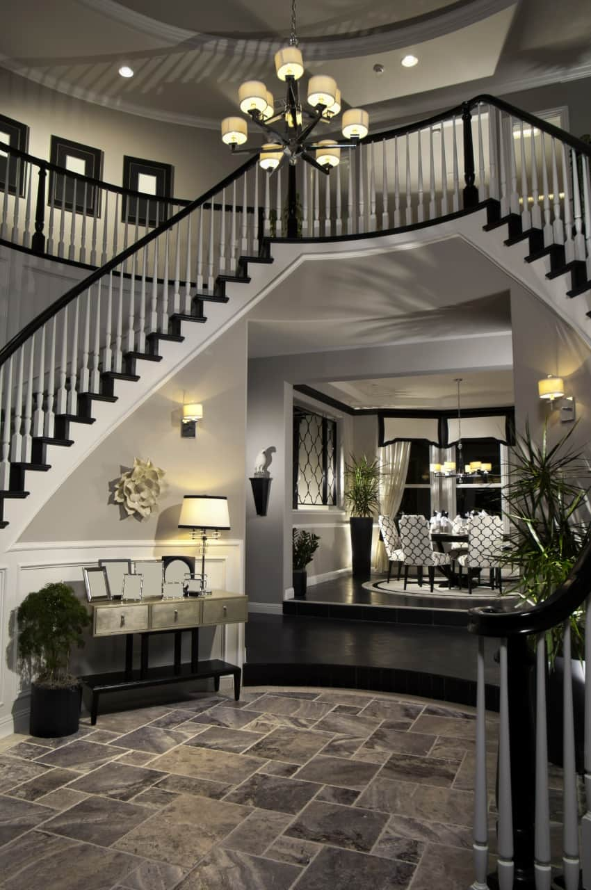 40 fantastic foyer entryways in luxury houses images for Atrium design and decoration