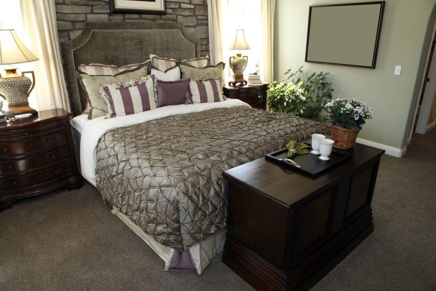 palatial nature bedroom