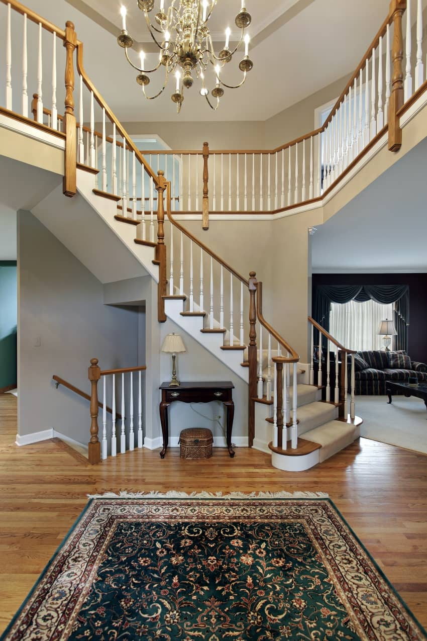 15 Beautiful Modern Foyer Designs That Will Welcome You Home: 40 Fantastic Foyer (Entryways) With Staircases In Luxury Homes (IMAGES
