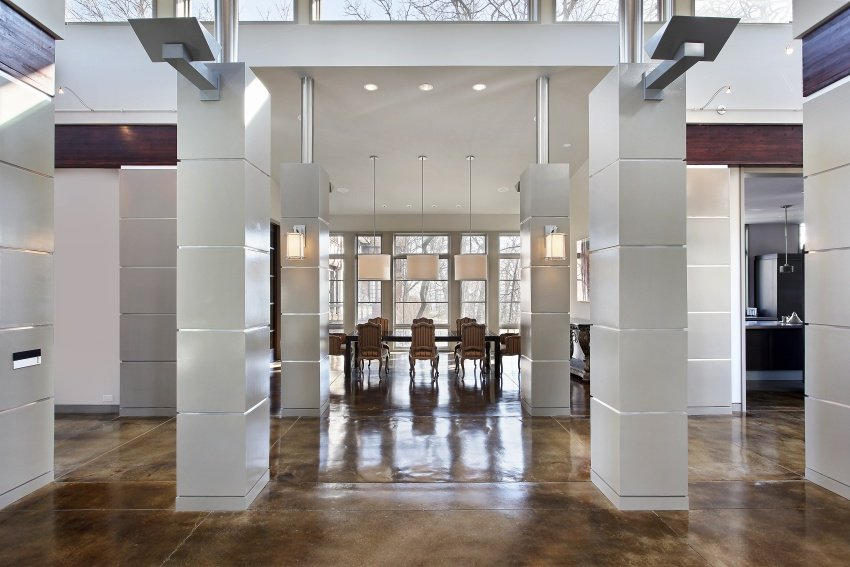 exquisite entrance hall