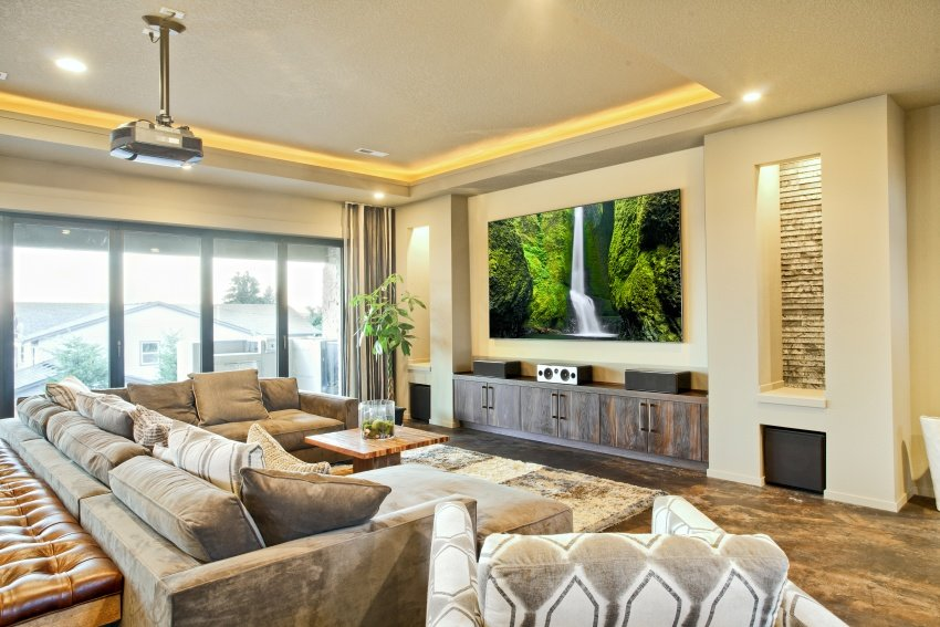 entertainment living room