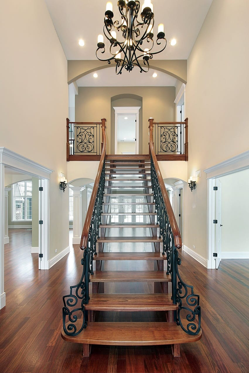 Open Concept Foyer Ideas : Fantastic foyer entryways in luxury houses images