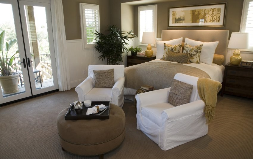 40 Elegant Master Bedroom Design Ideas 2018 (IMAGE GALLERY
