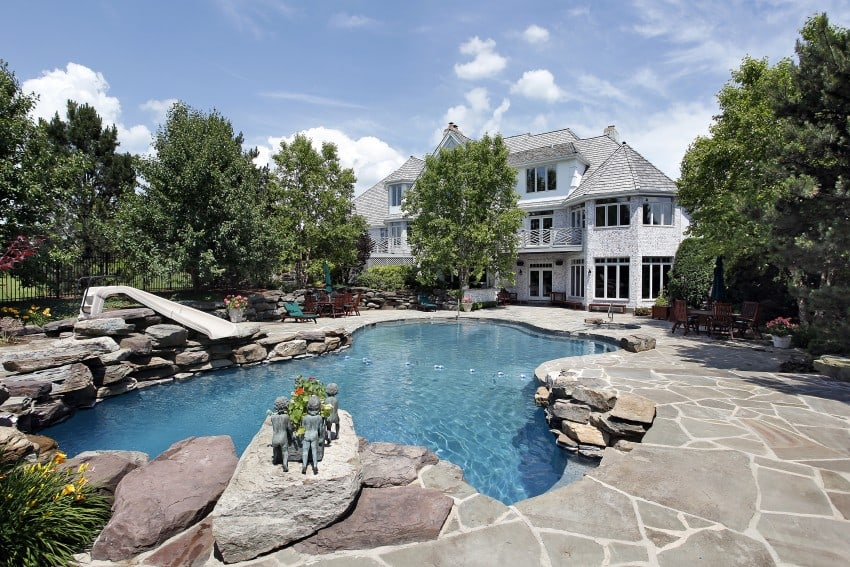 15 swimming pool ideas for backyard types and cost - How much does the average swimming pool cost ...