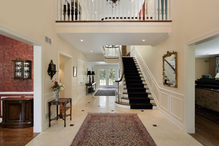 40 fantastic foyer (entryways) in luxury houses (images)