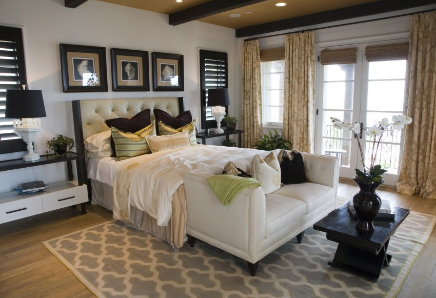 40 elegant master bedroom design ideas 2017 image gallery for Elegant bedroom designs