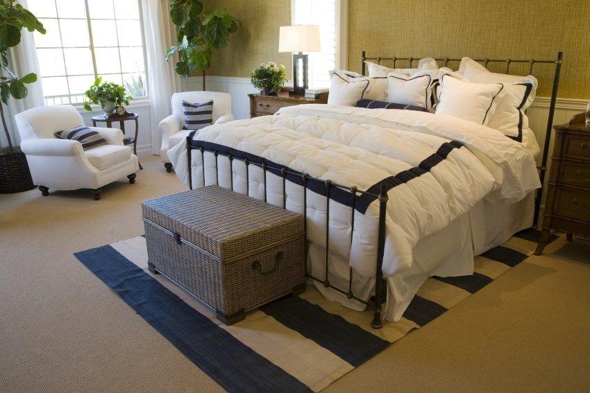 billowing bedding