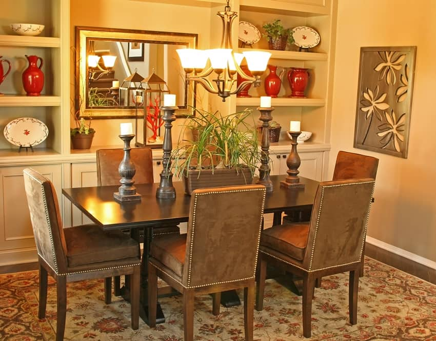 Dining room interior design complete guide for Model home dining room