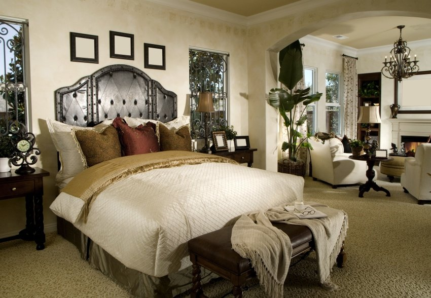 elegant and luxury bedroom