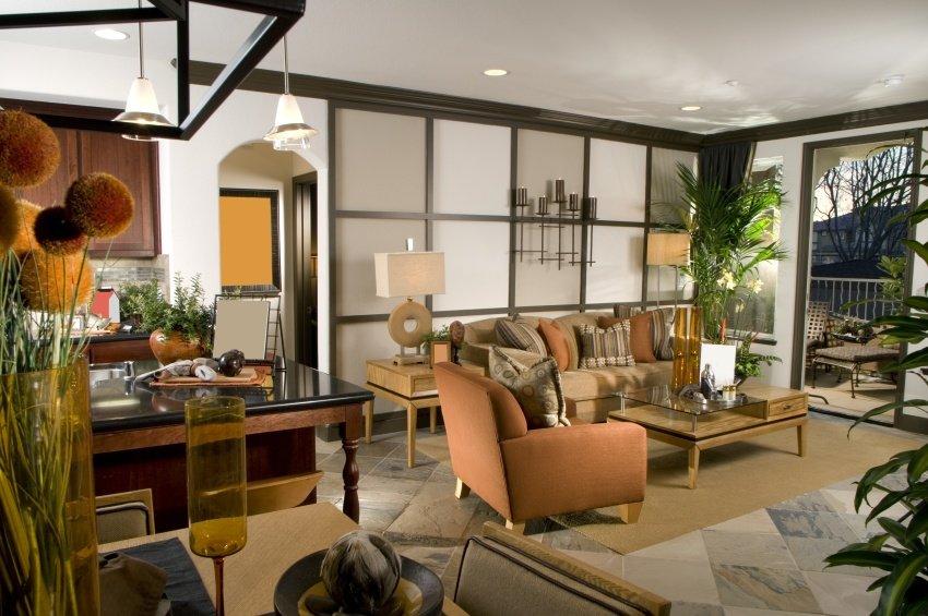 international looking living room