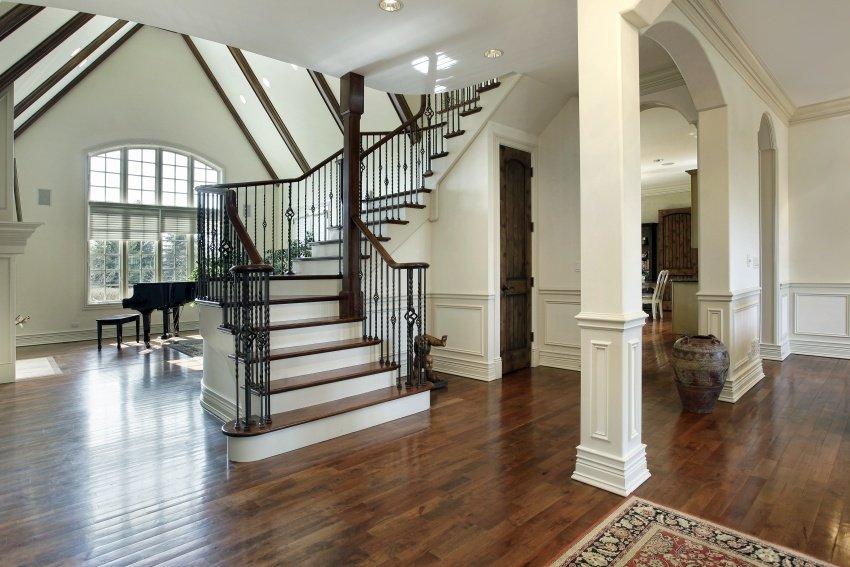 classic hallway design