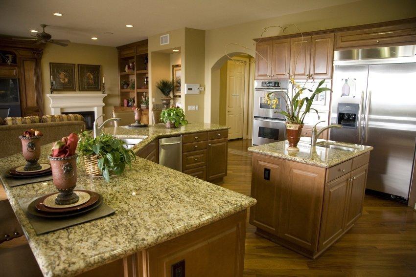 monochromatic color scheme kitchen