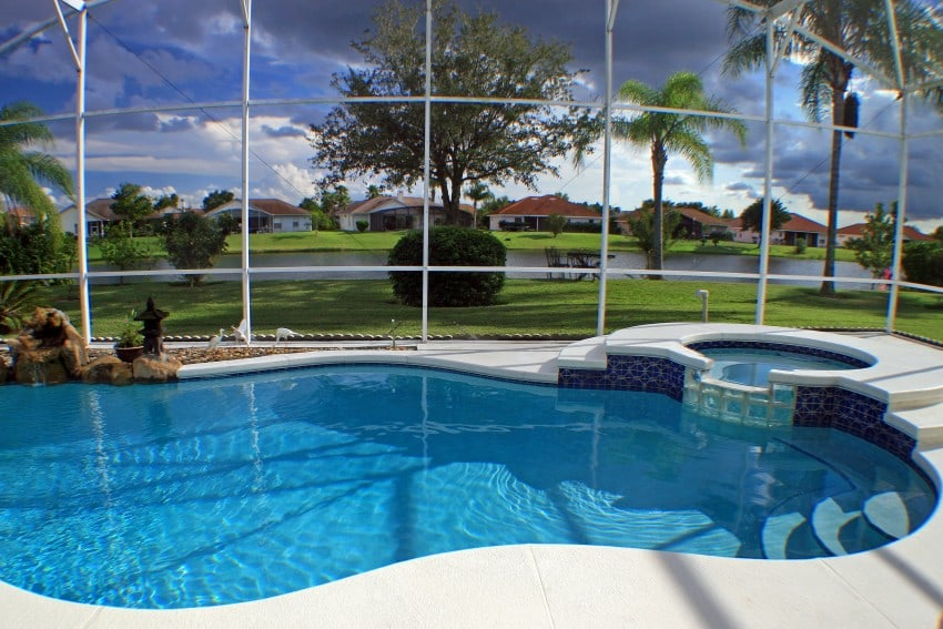 Backyard swimming pools types and cost epic home ideas for Pool design orlando florida
