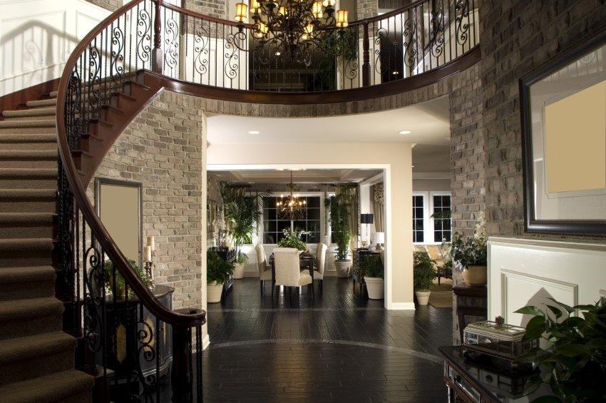 lobby in dark shades