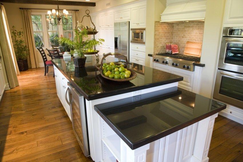 classic design in white kitchen