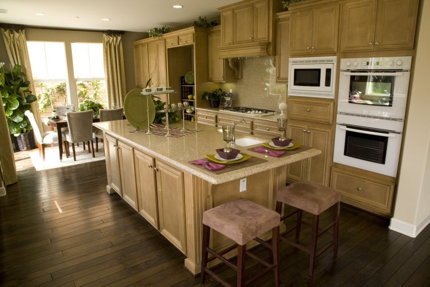 color schemes for kitchens with light wood cabinets 40 exquisite and luxury kitchen designs image gallery 9939