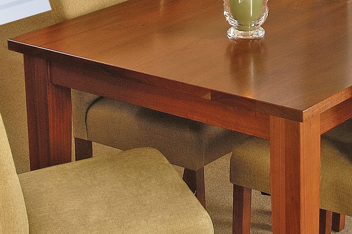 hardwood is one of the top materials for dining table