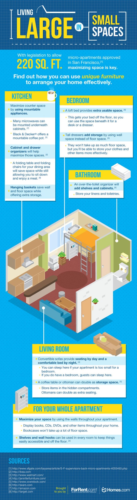 small space living tips