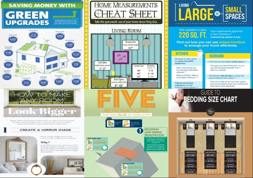 10 x 10 kitchen feng shui layout 25 home dcor infographics and cheat sheets that every home owner