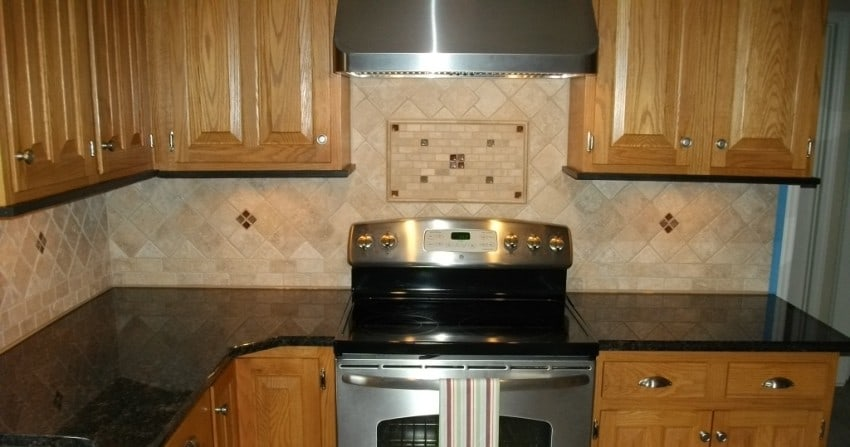inexpensive kitchen backsplash
