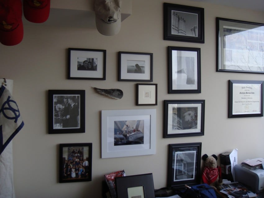 living room wall pictures frames