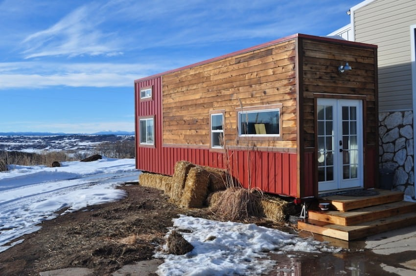 Shipping containers make the best tiny houses, such as the one right here