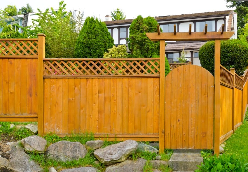 Fence styles and designs for backyard front yard images for Front garden fence designs
