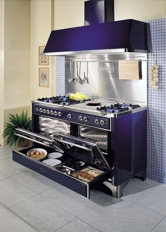 Large Kitchen Appliance Color Trends