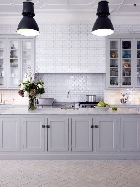 shaker cabinet doors in kitchen