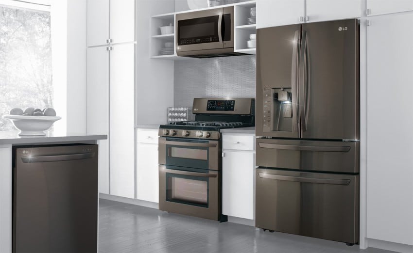 superb Trending Kitchen Appliances #2: black stainless steel appliances