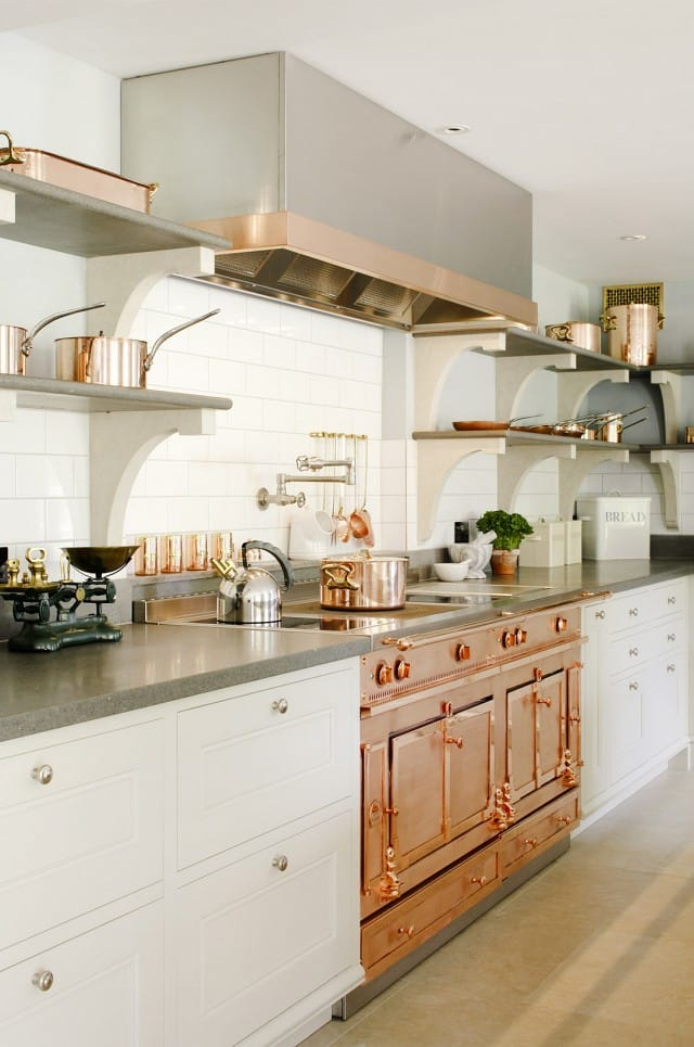 Rose Gold Copper Color Appliance