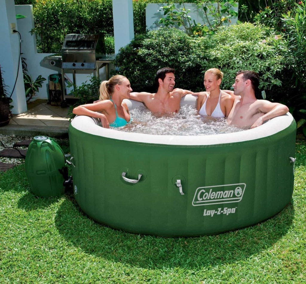 Coleman Lay-Z Spa Inflatable Hot Tub