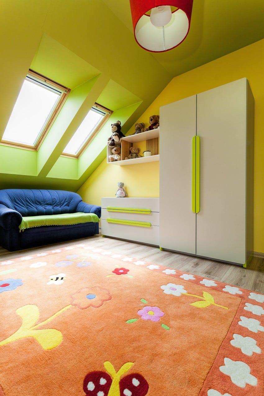 loft attic bedroom design