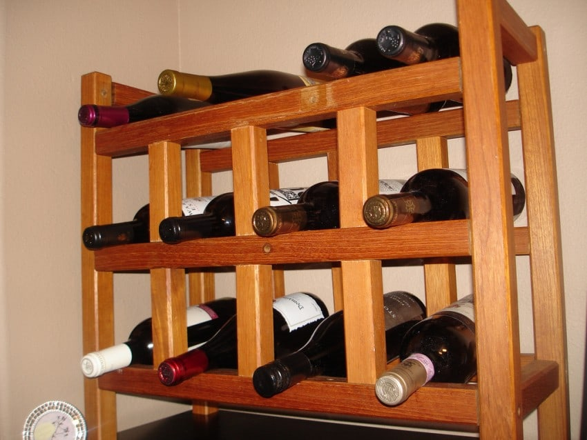 wine racks diy