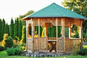 30 Outdoor Garden Gazebos – Kiosks – Pergolas – Pavilions