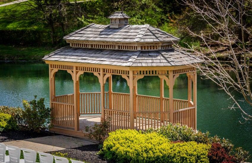 30 outdoor garden gazebos kiosks pergolas pavilions epic home ideas. Black Bedroom Furniture Sets. Home Design Ideas