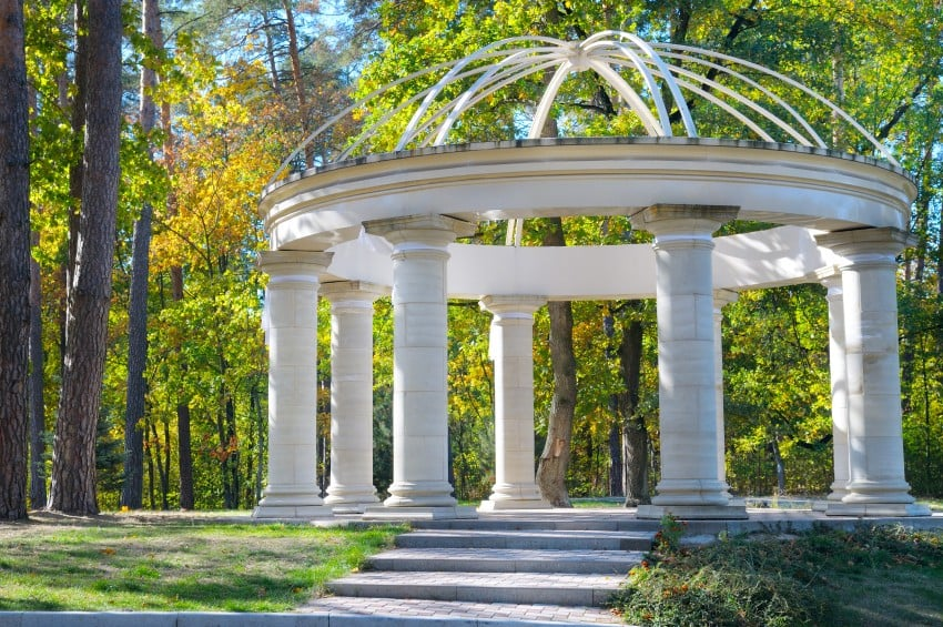 30 Outdoor Garden Gazebos Kiosks Pergolas Pavilions